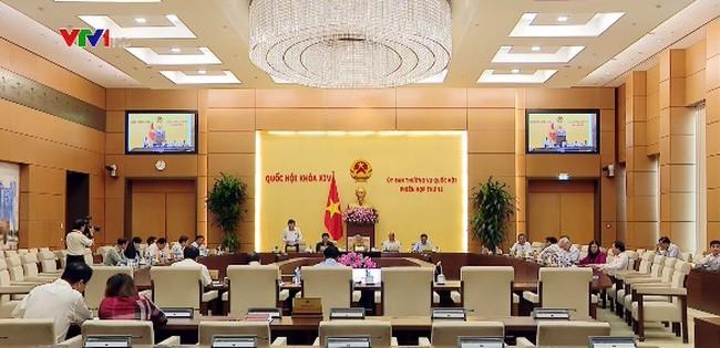 В Ханое завершилось 12-е заседание Постоянного комитета Нацсобрания Вьетнама - ảnh 1