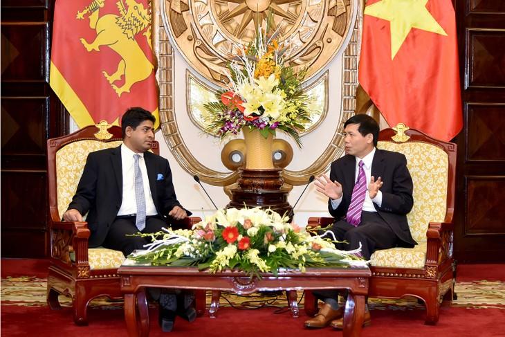 Вьетнам и Шри-Ланка договорились увеличить объем товарооборота до $1 млрд - ảnh 1