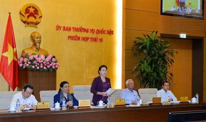 В Ханое открылось 13-е заседание Постоянного комитета Нацсобрания Вьетнама - ảnh 1