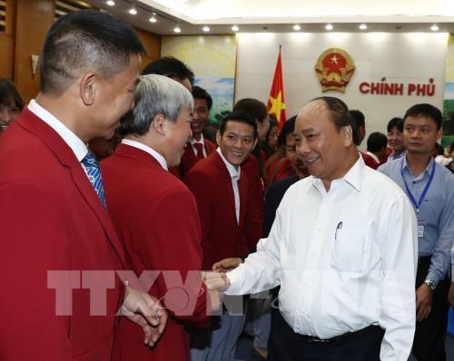 Нгуен Суан Фук поздравил сборную Вьетнама с успехами на 29-х Играх ЮВА - ảnh 1