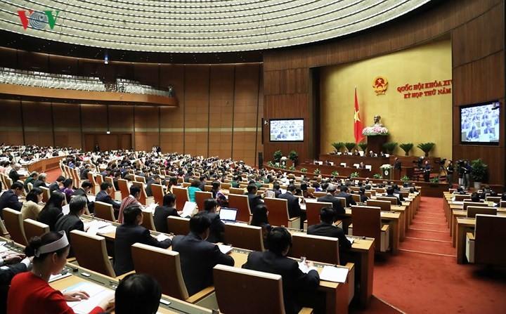 В Ханое стартовала 5-я сессия Национального собрания Вьетнама 14-го созыва - ảnh 1