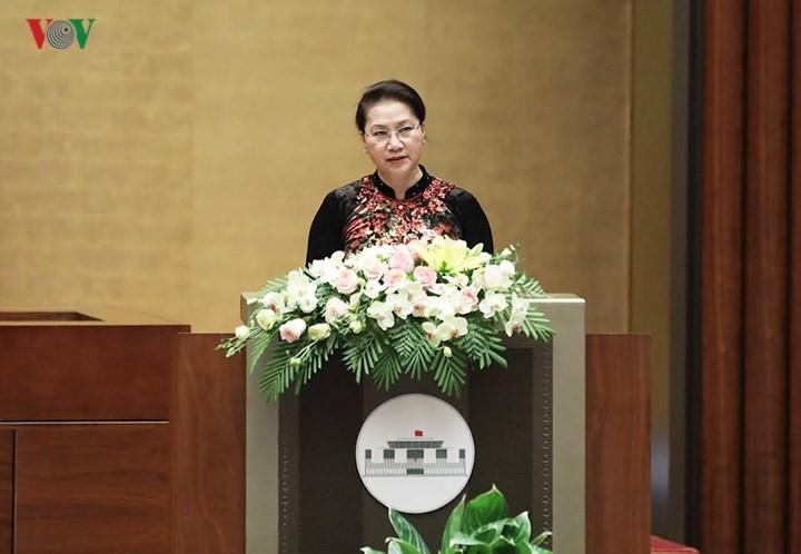 В Ханое стартовала 5-я сессия Национального собрания Вьетнама 14-го созыва - ảnh 2