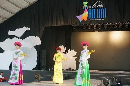 HCMC's Ao Dai festival concludes - ảnh 1