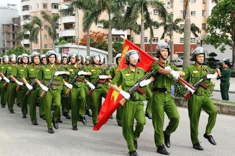 Hanoi police devise security plans for IPU 132 - ảnh 1