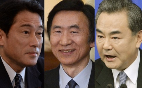 Japan, RoK, China foreign ministers to meet in Seoul - ảnh 1