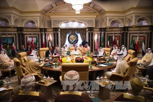 US, GCC vow to fight IS and find solutions to regional conflicts - ảnh 1