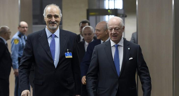 Syrian government delegation leaves Geneva - ảnh 1