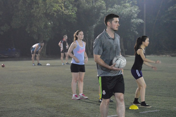 The Gaelic football club: Irish culture right in Hanoi - ảnh 2