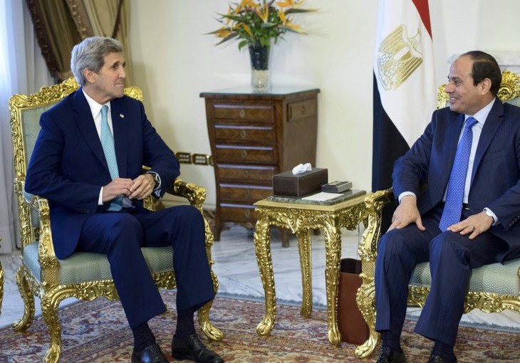 US Secretary of State visits Egypt - ảnh 1