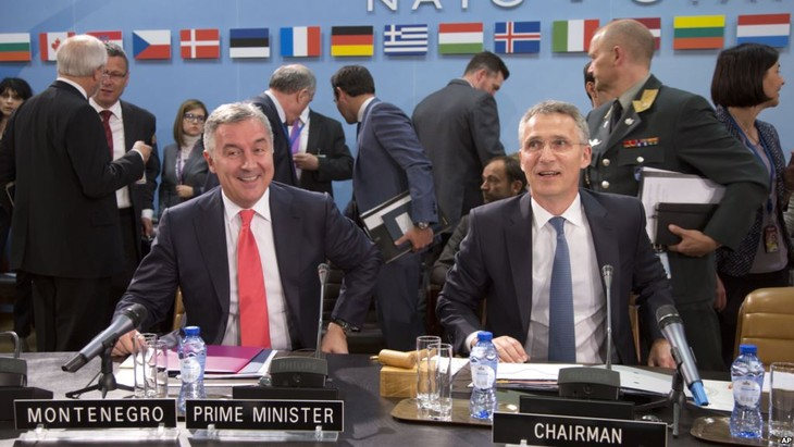 NATO signs accession protocol with Montenegro - ảnh 1