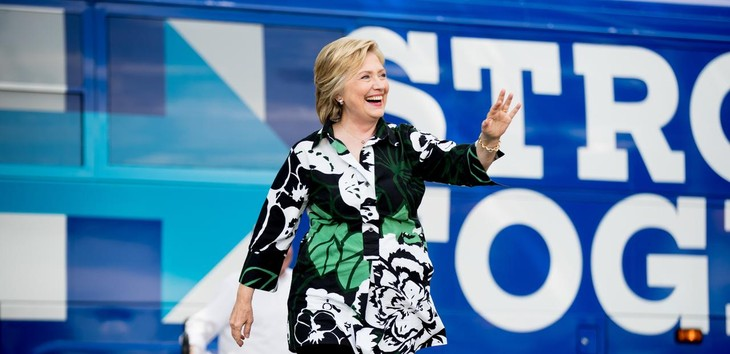 US election: Hillary Clinton retakes lead over Donald Trump - ảnh 1