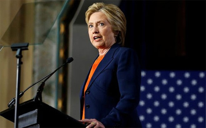 Hillary Clinton extends lead over Donald Trump to 8 points - ảnh 1
