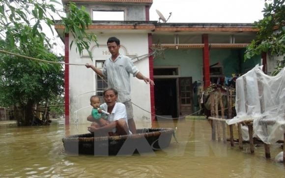Over two million USD raised to support flood victims - ảnh 1