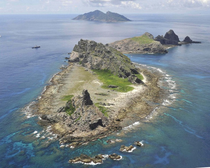 Japan identifies four Chinese coast guard ships enter Japanese waters - ảnh 1