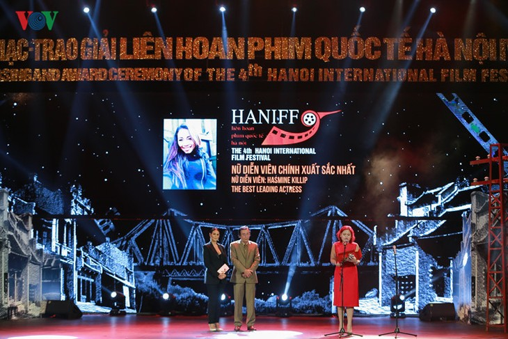 Spectaclular closing ceremony of Hanoi International Film Festival  - ảnh 7
