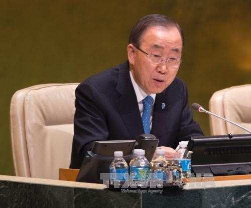 Ban Ki-moon urges Donald Trump to back Paris climate change agreement - ảnh 1