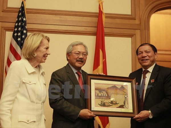 Vietnamese localities promote potential to US - ảnh 1