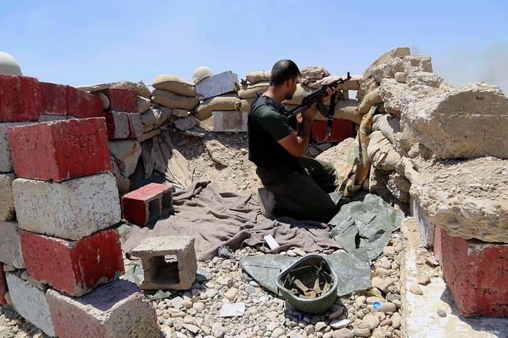 Iraqi army kicks off mop-up operations in Diyala province - ảnh 1
