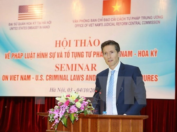 Vietnam, US share experience in criminal law enforcement - ảnh 1