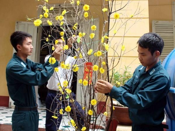 В Кханьхоа: создание телемоста для поздравления солдат и жителей островного уезда Чыонгша с Тэтом - ảnh 1