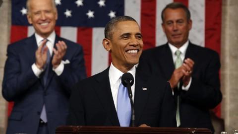 В ежегодном послании президента США подчеркиваются вопросы внутренней политики страны - ảnh 1