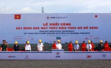 В провинции Биньфыок началось строительство расширенной ГЭС Тхакмо - ảnh 1