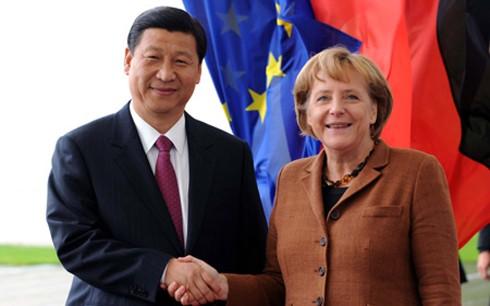 В КНР с официальным визитом находится канцлер ФРГ Ангела Меркель - ảnh 1
