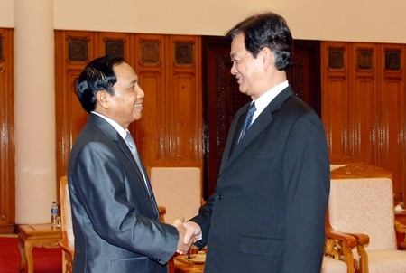 Премьер-министр СРВ Нгуен Тан Зунг принял делегацию правительственной инспекции Лаоса - ảnh 1