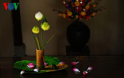 Деревня по изготовлению бумажных цветов в Хюэ - ảnh 1