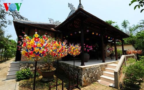 Деревня по изготовлению бумажных цветов в Хюэ - ảnh 6