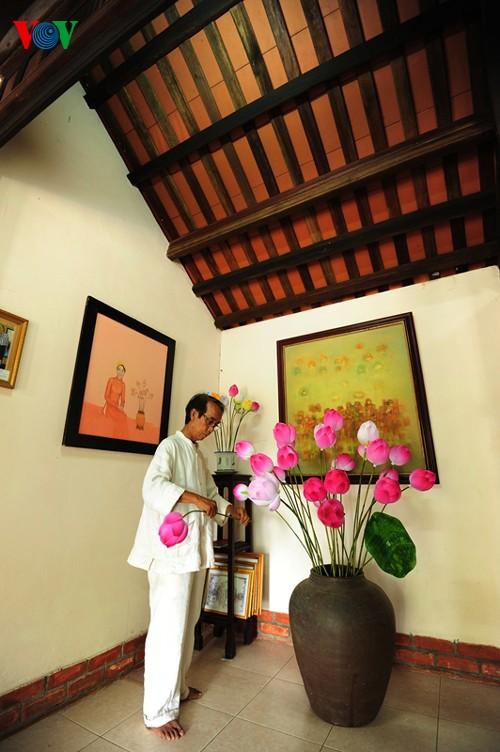 Деревня по изготовлению бумажных цветов в Хюэ - ảnh 8