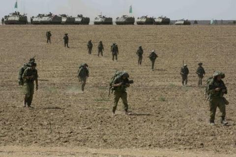 Израиль выслал дополнительные войска на границу с сектором Газа - ảnh 1