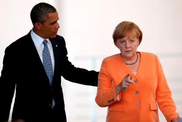 Лидеры США и ФРГ впервые после шпионского скандала провели телефонный разговор - ảnh 1