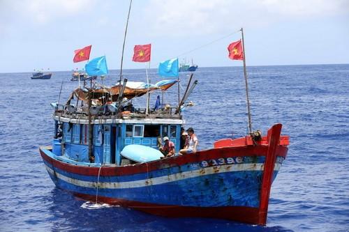 Продолжается решение дела относительно задержания Китаем двух вьетнамских рыболовецких судов - ảnh 1