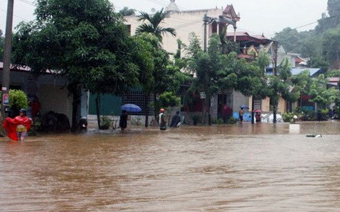 Во Вьетнаме ликвидируют последствия тайфуна «Раммасун» - ảnh 1