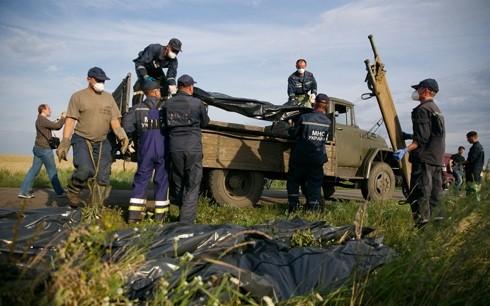 Началась доставка тел жертв крушения малайзийского самолёта в Донецк - ảnh 1