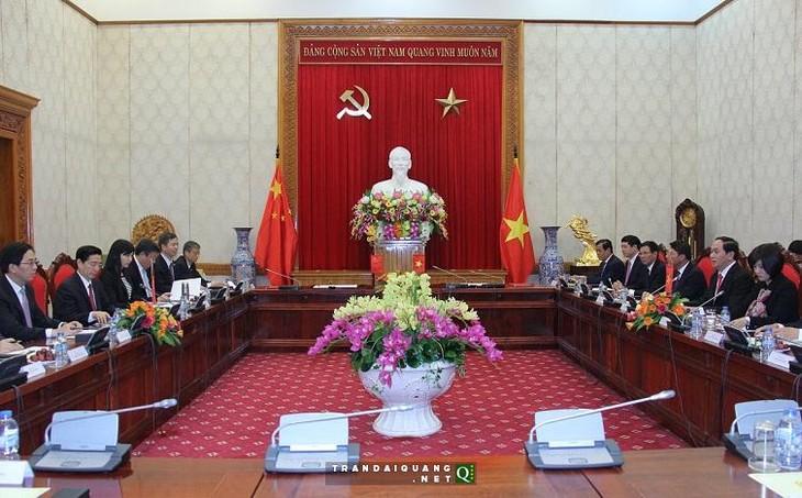 Вьетнам и Китай подписали документы о сотрудничестве в сферах безопасности и обороны - ảnh 1