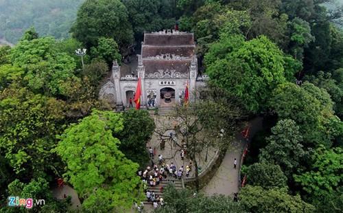 Храмовый комплекс королей Хунгов с высоты птичьего полета - ảnh 3