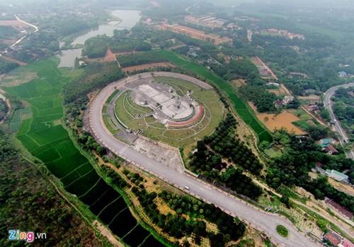 Храмовый комплекс королей Хунгов с высоты птичьего полета - ảnh 6