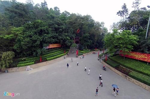 Храмовый комплекс королей Хунгов с высоты птичьего полета - ảnh 8
