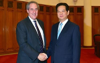 Премьер-министр СРВ Нгуен Тан Зунг принял торгпреда США - ảnh 1