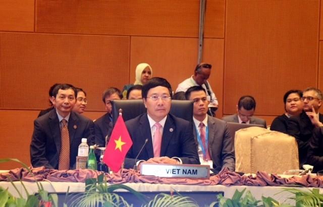 В Малайзии прошли подготовительные министерские конференции к 26-му саммиту АСЕАН - ảnh 1
