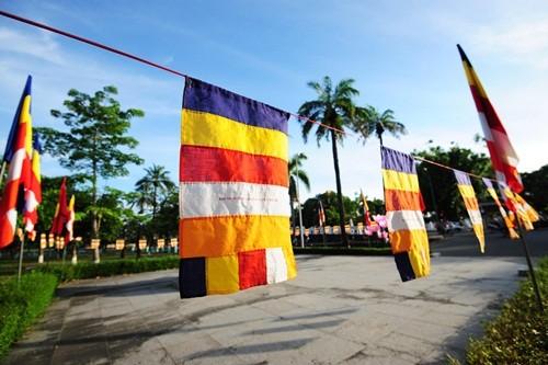 Великий буддийский праздник в Хюэ - ảnh 10