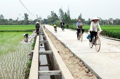 Строительство новой деревни в сочетании с охраной окружающей среды в Киензянге - ảnh 1