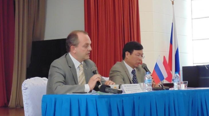 Состояние и перспективы российско-вьетнамского инвестиционного сотрудничества на новом этапе - ảnh 1