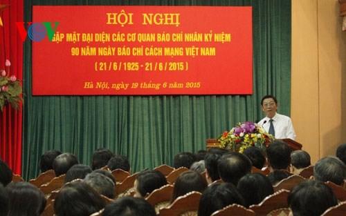 В Ханое прошла встреча представителей органов печати страны - ảnh 1