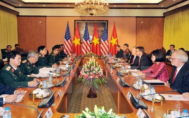 Предложены меры и политика по развитию двусторонних отношений Вьетнама и США - ảnh 1