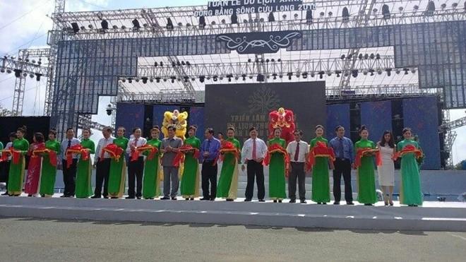 Открылась торгово-туристическая выставка-ярмарка районов дельты реки Меконг - ảnh 1