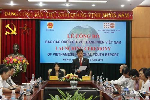 Опубликован Национальный доклад о вьетнамской молодежи - ảnh 1