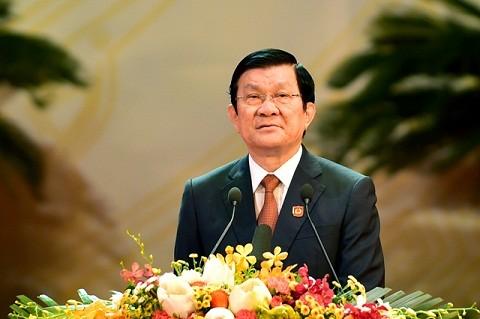Руководители Вьетнама направили поздравительные телеграммы в связи с Днём объединения Германии - ảnh 1